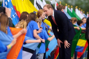 HRH Prince William, Magna Carter celebrations, Runnymede.
